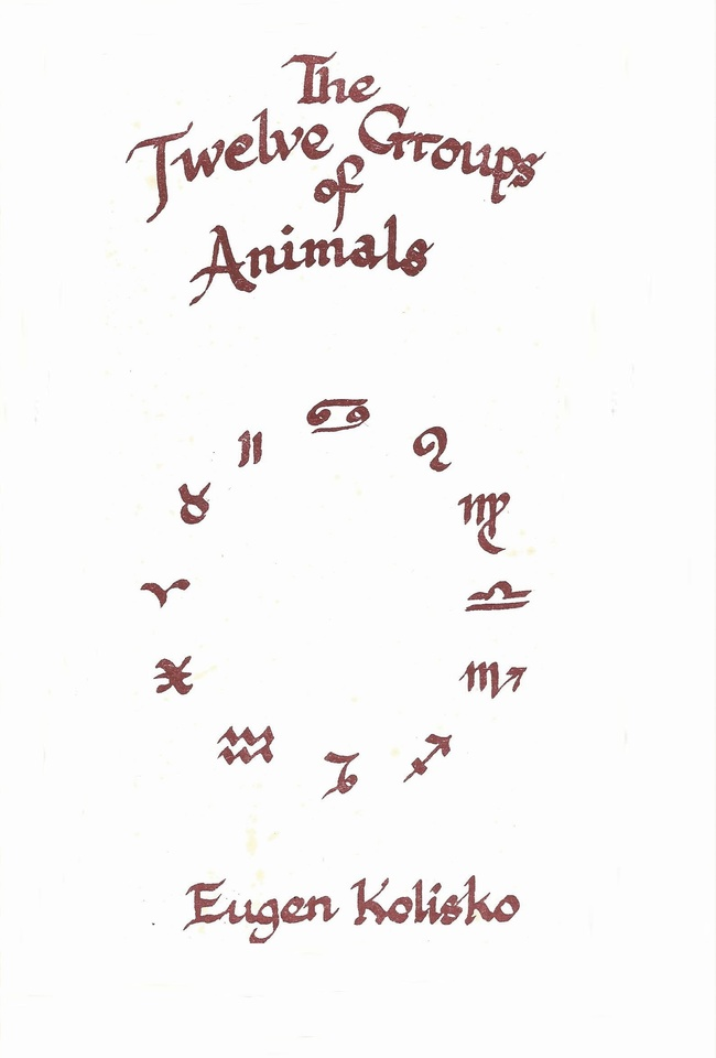 The Twelve Groups of Animals
